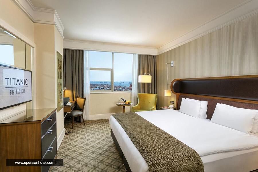 هتل تایتانیک پورت باکرکوی استانبول اتاق دو تخته