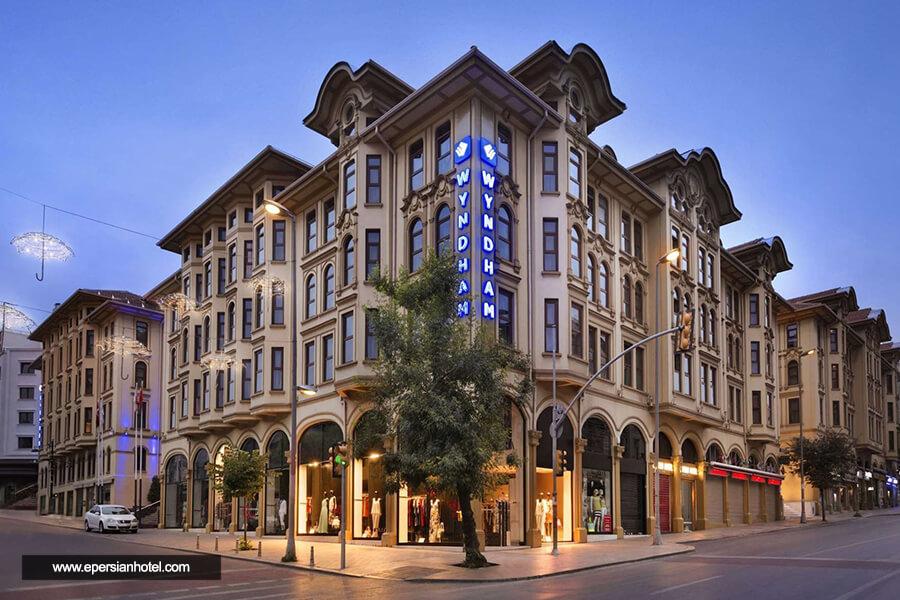 هتل ویندهام اولد سیتی استانبول نما بیرون