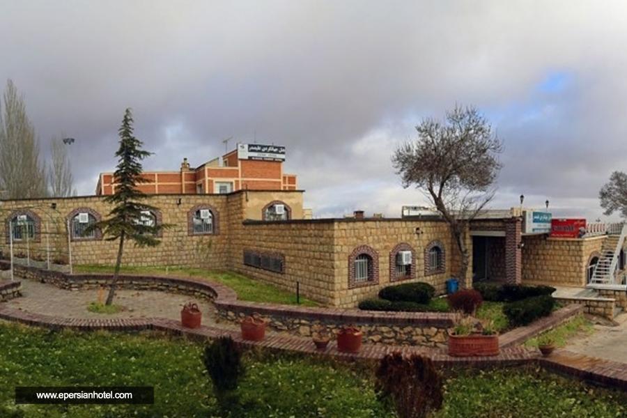 هتل جهانگردی علیصدر همدان نما