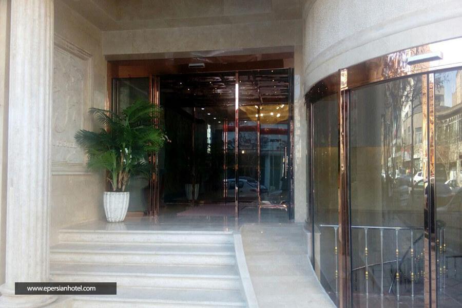هتل جم مشهد نمای بیرونی هتل