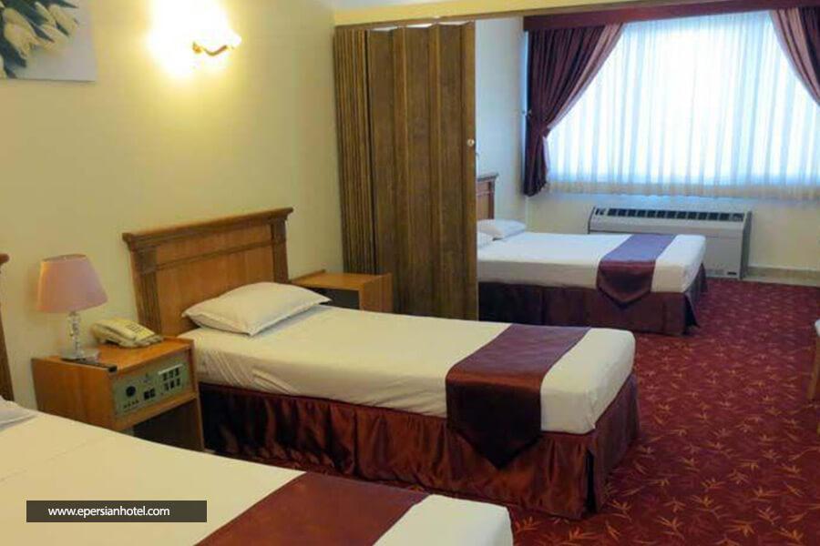 هتل جم مشهد اتاق چهار تخته
