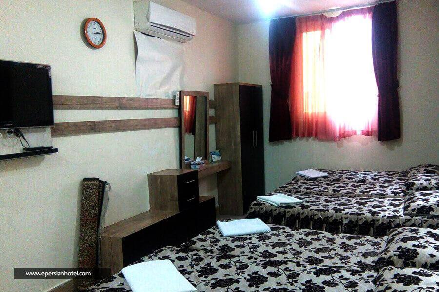 هتل آپارتمان لاوان (جمکران) مشهد اتاق چهارتخته
