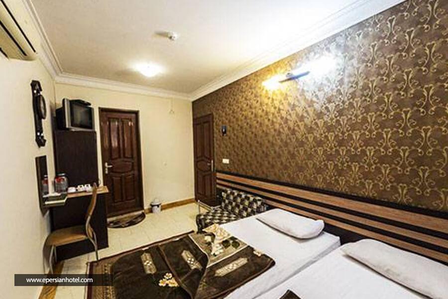 هتل آپارتمان کرانه مشهد اتاق دو تخته