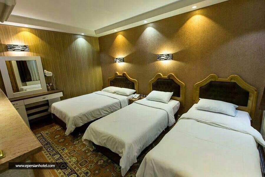 هتل خیام مشهد اتاق چهار تخته