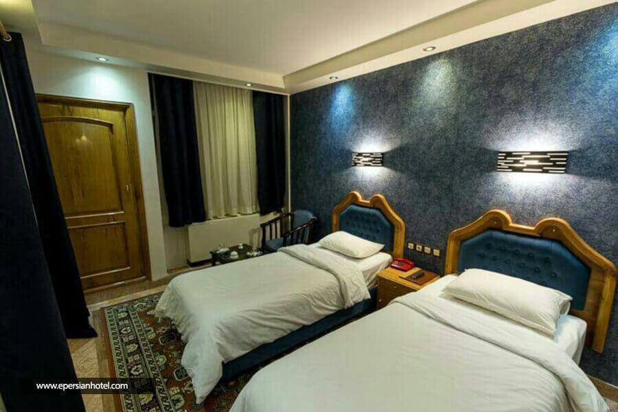 هتل خیام مشهد اتاق تویین