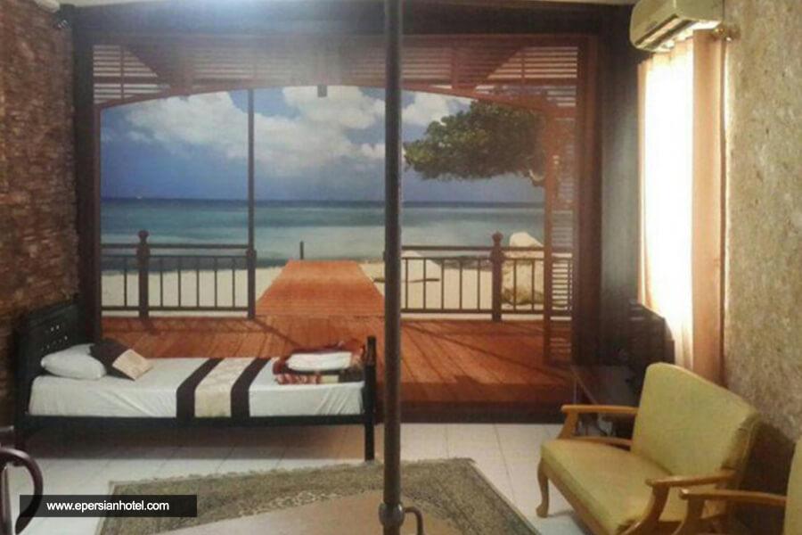 هتل ققنوس کیش اتاق