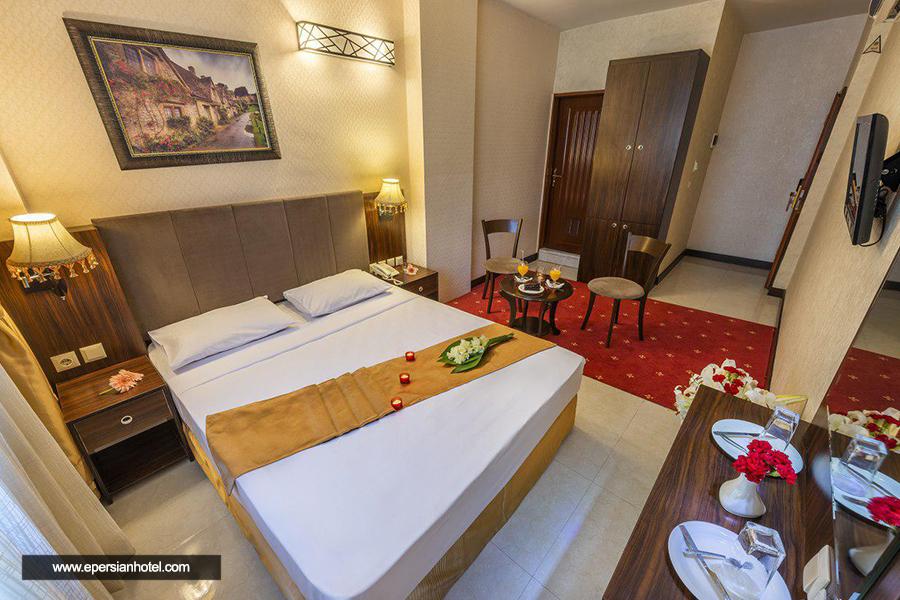هتل آپارتمان کیش بافان مشهد اتاق دو تخته