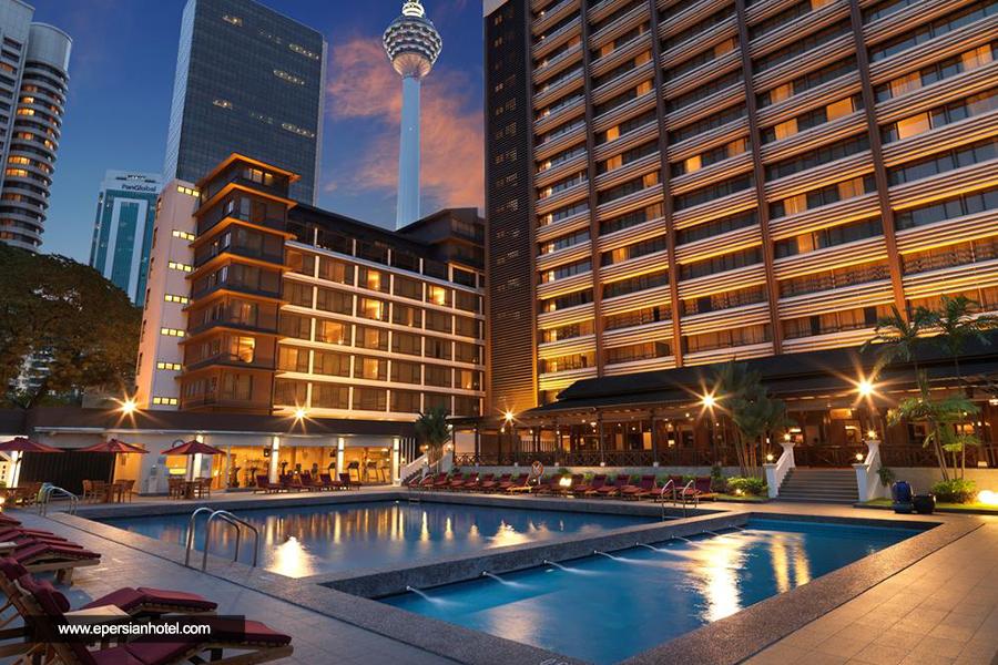 هتل کنکورد کوالالامپور استخر