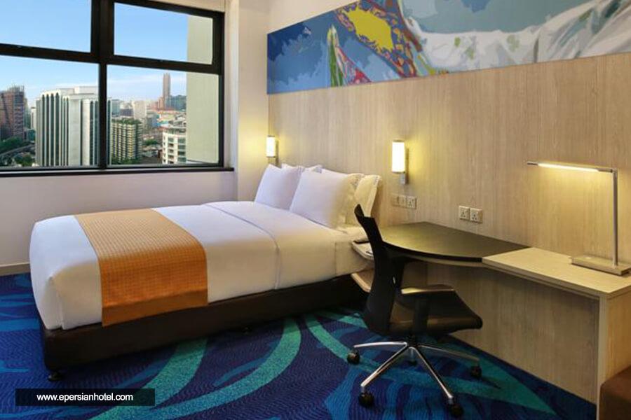 هتل هالیدی این اکسپرس سیتی سنتر کوالالامپور اتاق دو تخته