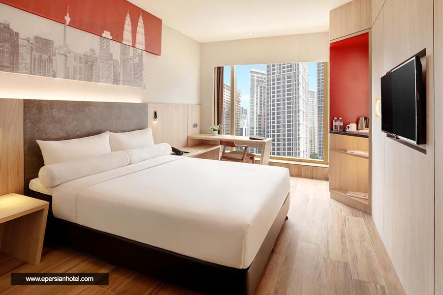 هتل ایبیس سیتی سنتر کوالالامپور اتاق دوتخته