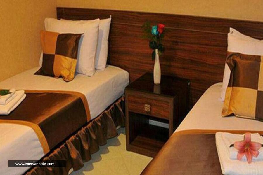 هتل آپارتمان لبخند مشهد اتاق دو تخته
