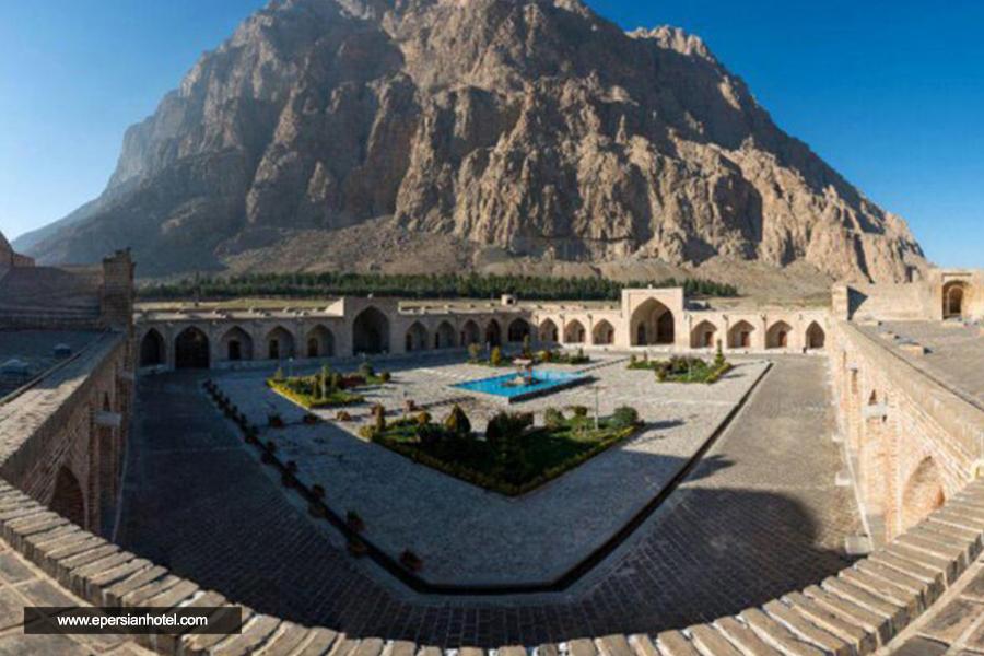 هتل لاله بیستون کرمانشاه نما