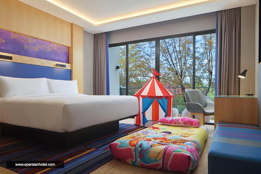 هتل آلوفت پانتای تنگاه لنکاوی اتاق دبل