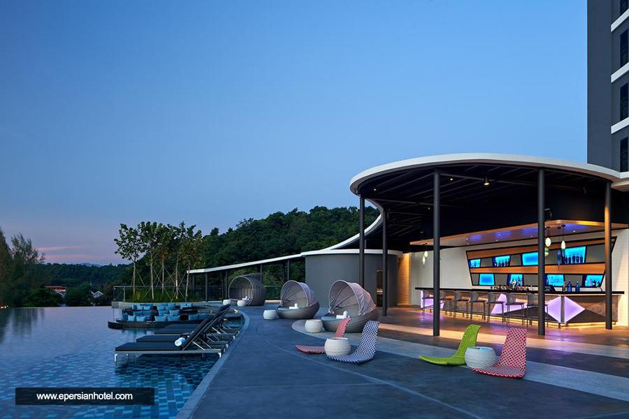 هتل آلوفت پانتای تنگاه لنکاوی استخر