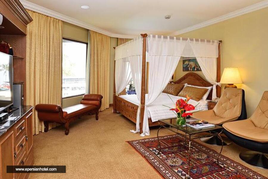 هتل هالیدی ویلا بیچ لنکاوی اتاق دو تخته