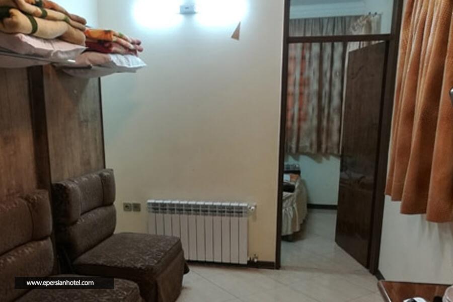 هتل آپارتمان مهتاب مشهد اتاق چهارتخته