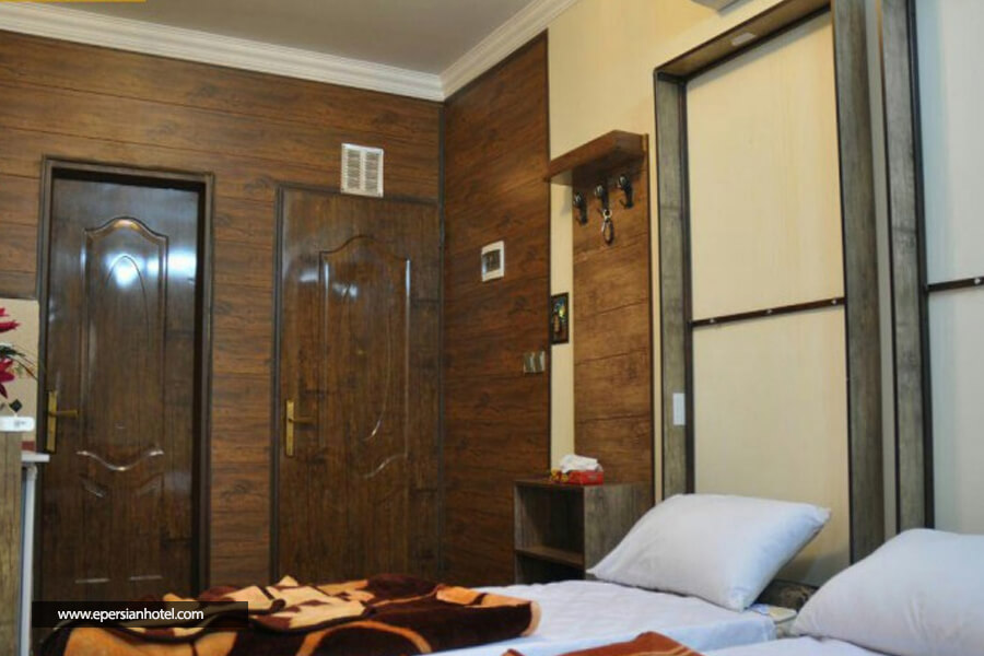 هتل آپارتمان مهتاب مشهد اتاق تویین