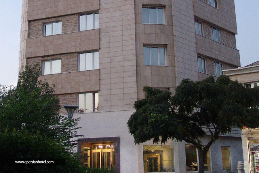 هتل مجید مشهد نما ساختمان