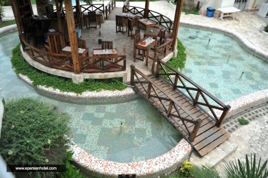 هتل ملک چالوس کافی شاپ