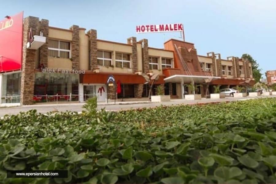 هتل ملک چالوس نما