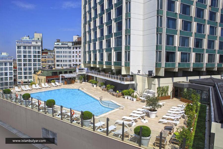 هتل مارمارا تکسیم استانبول نما