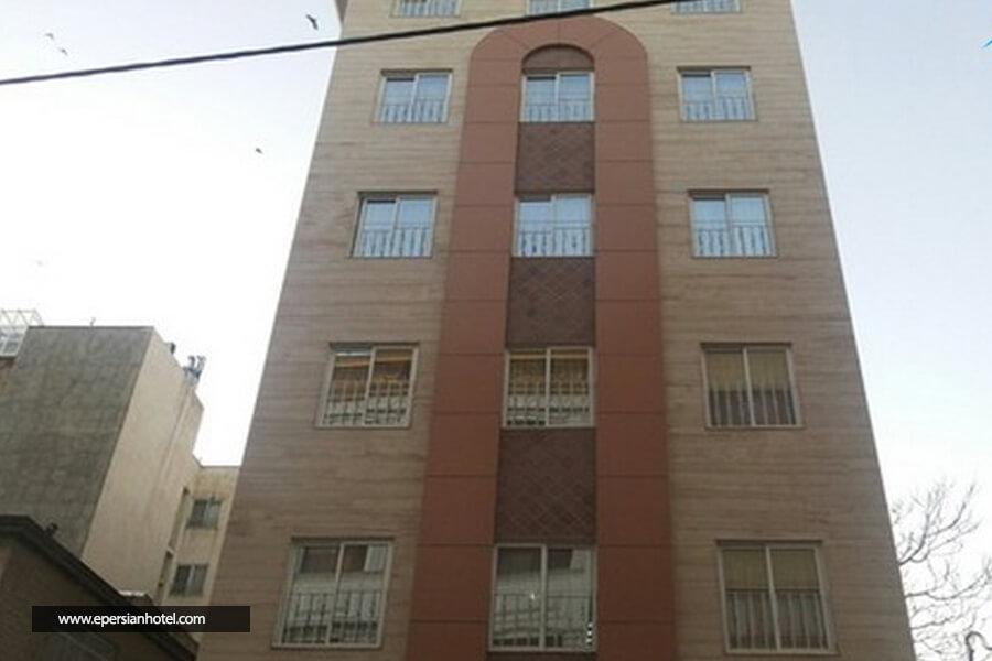 هتل آپارتمان مهر رضا مشهد نما ساختمان