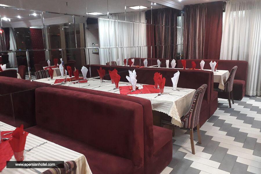 هتل آپارتمان مشکات مشهد رستوران
