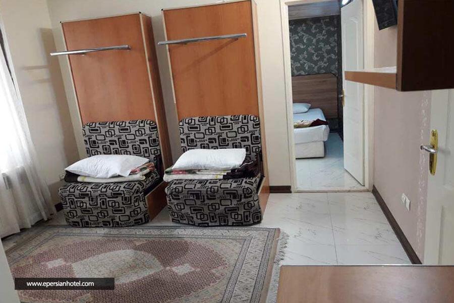 هتل آپارتمان میلاد مشهد اتاق پنج تخته