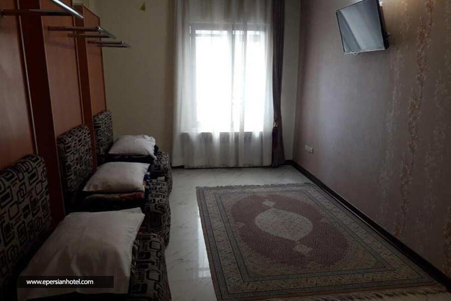 هتل آپارتمان میلاد مشهد اتاق چهار تخته