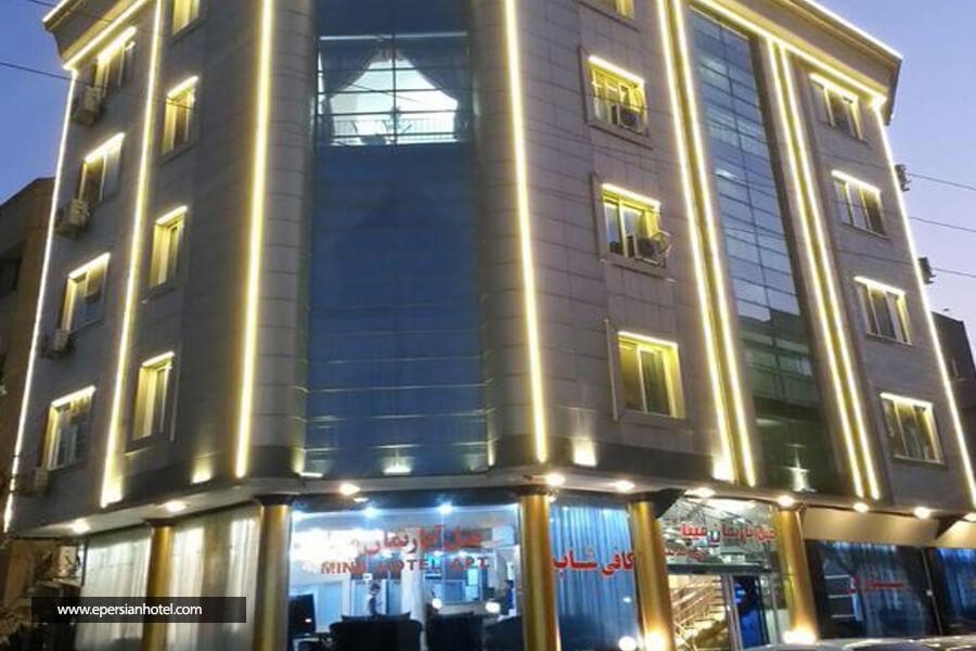 هتل مینا مشهد نما