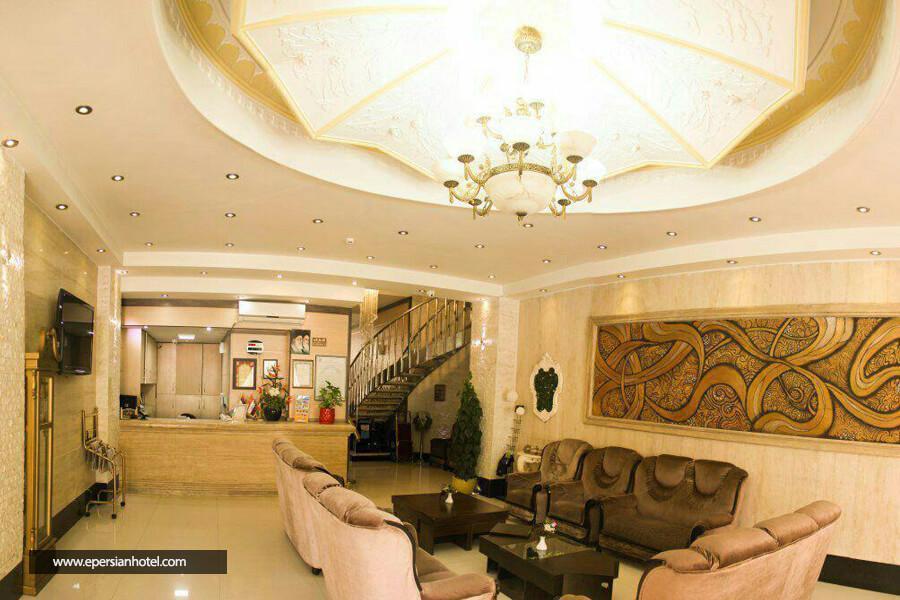 هتل آپارتمان معین درباری مشهد لابی