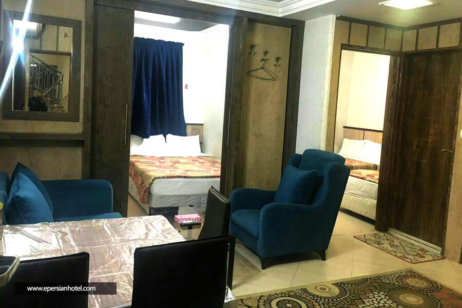 هتل آپارتمان معین درباری مشهد سوئیت