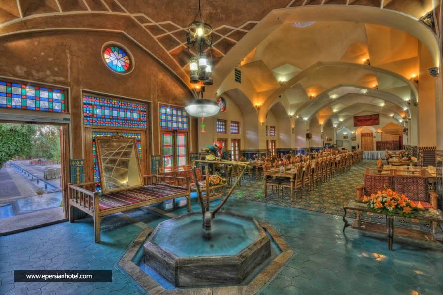 رستوران هتل مشیرالممالک یزد