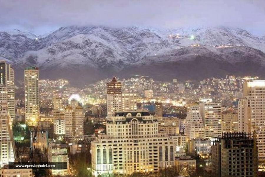 نمای تهران