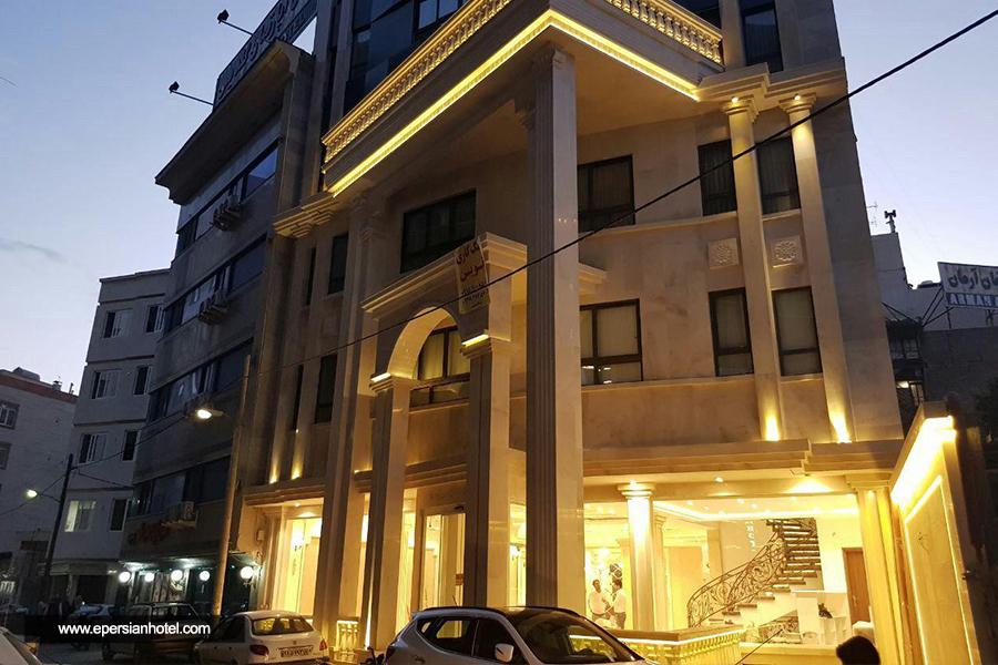 هتل نسیم مشهد نمای بیرونی
