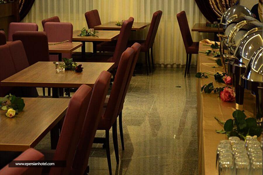 هتل آپارتمان نور النجف مشهد رستوران