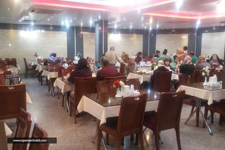 هتل المپیا مشهد رستوران