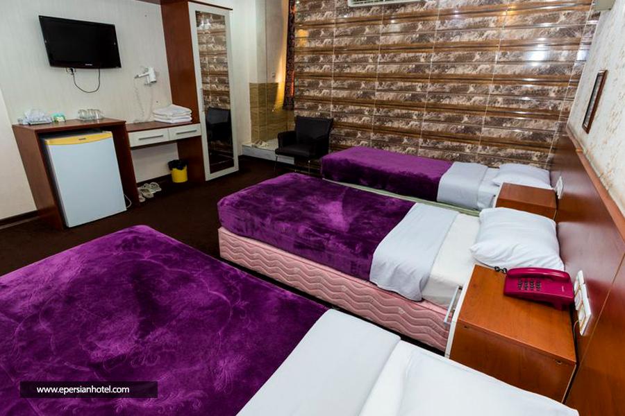 هتل ایران اهواز اتاق سه تخته