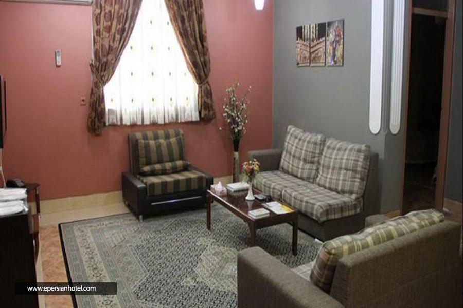 هتل آپارتمان هیرون بوشهر اتاق