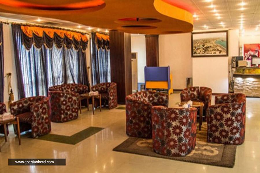 هتل جهانگردی دلوار بوشهر لابی