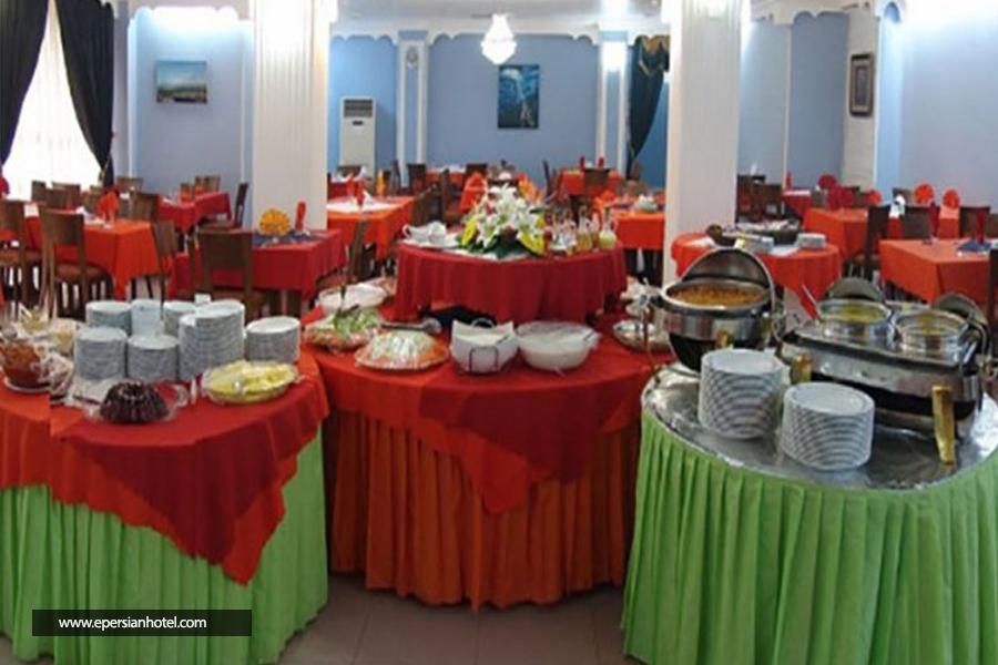 هتل جهانگردی دلوار بوشهر رستوران