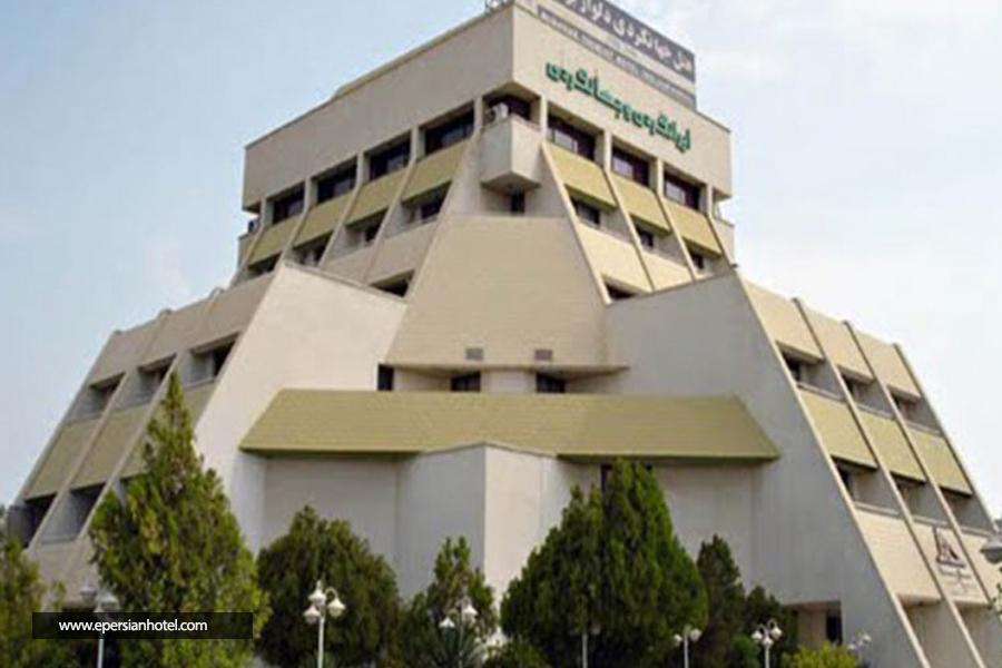 هتل جهانگردی دلوار بوشهر نما
