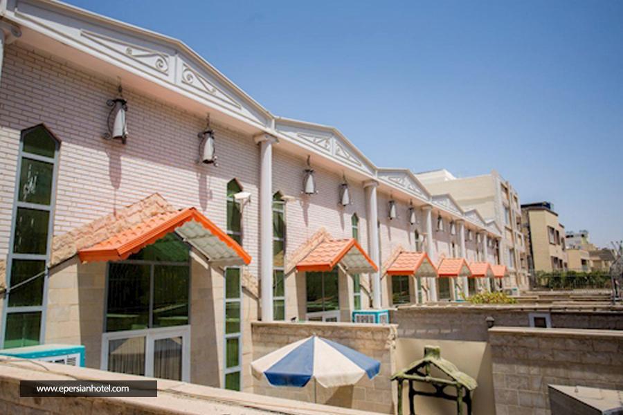هتل آپارتمان هخامنشیان پارتاک اصفهان نما