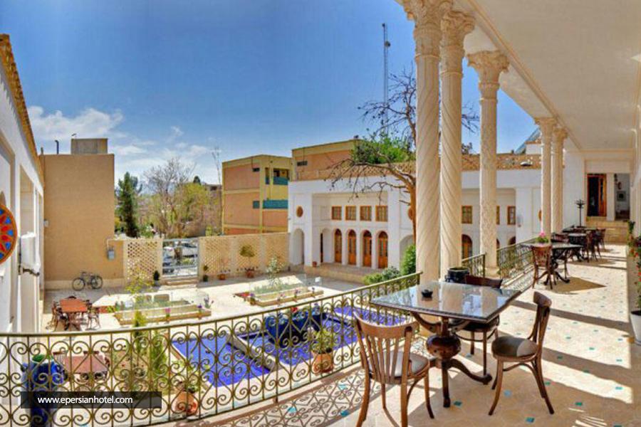 هتل کریاس اصفهان نمای خارجی