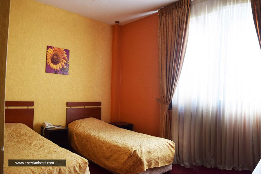 هتل ساحلی پردیس مبارکه اتاق دو تخته