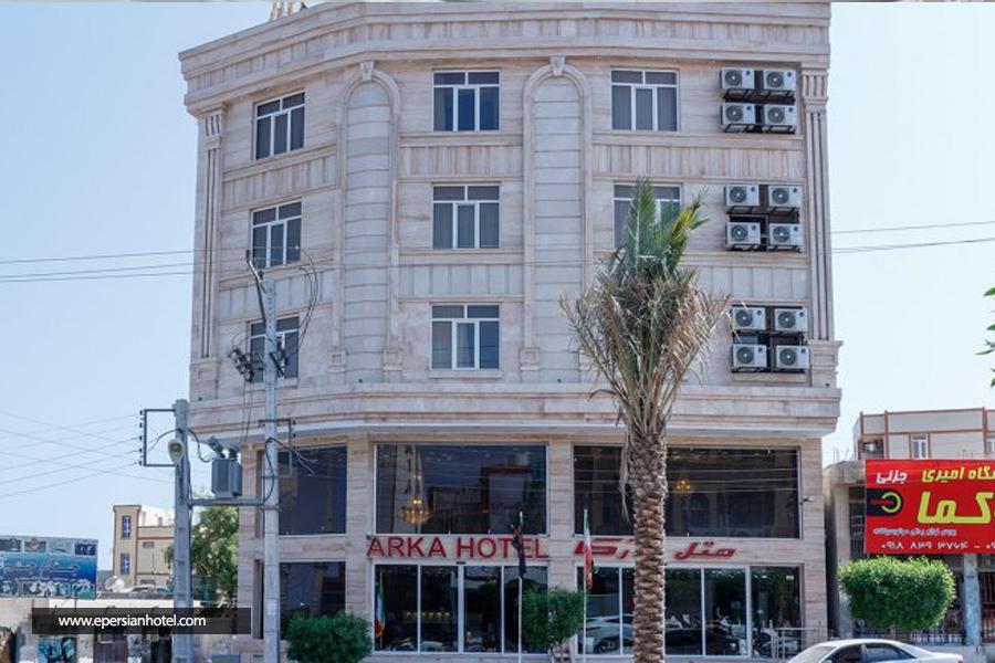 هتل آرکا قشم نما