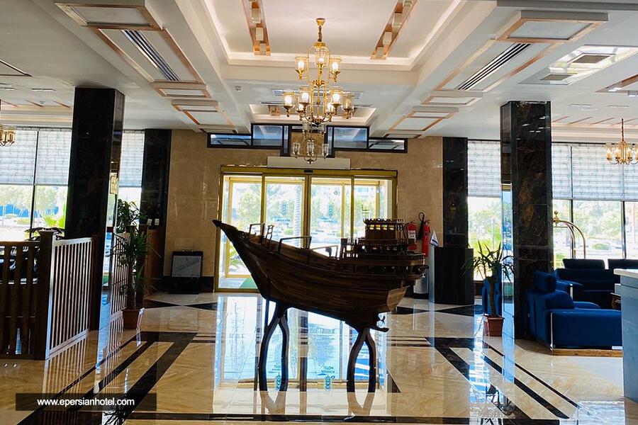 هتل آتامان قشم لابی