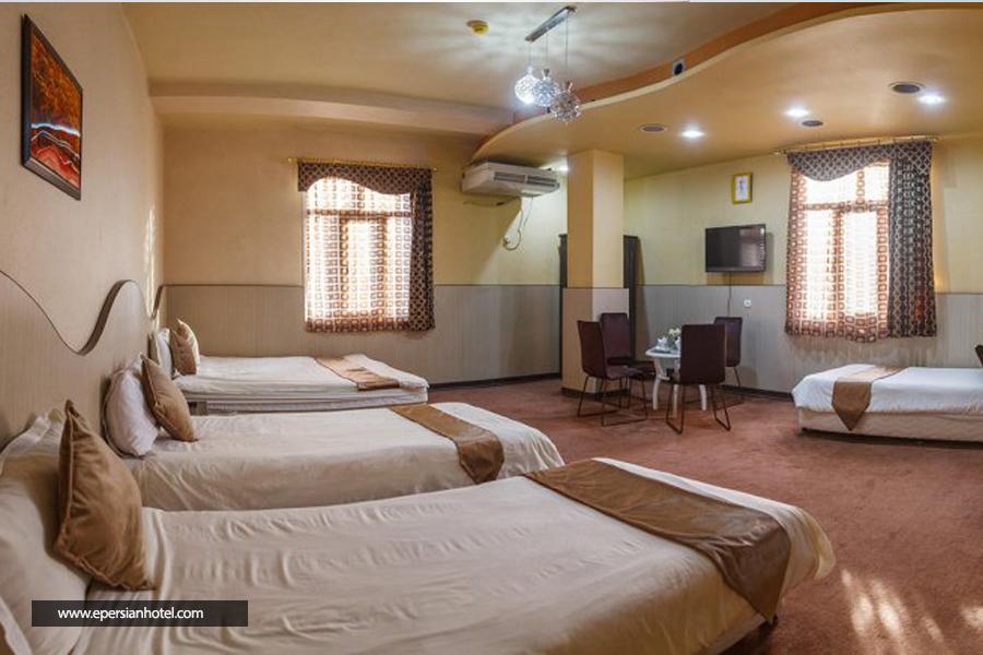 هتل مارینا 2 قشم اتاق چهارتخته