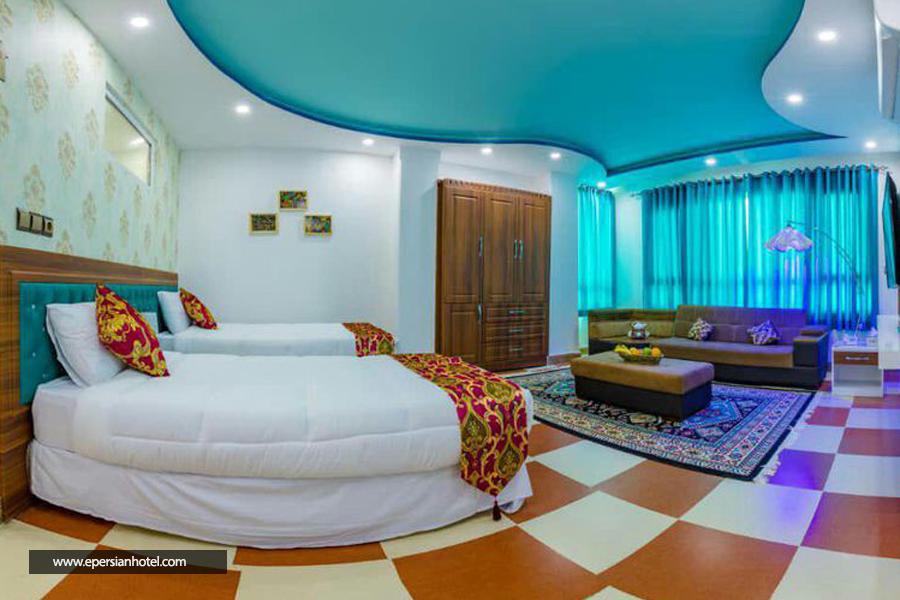 هتل رخسار قشم اتاق دوتخته