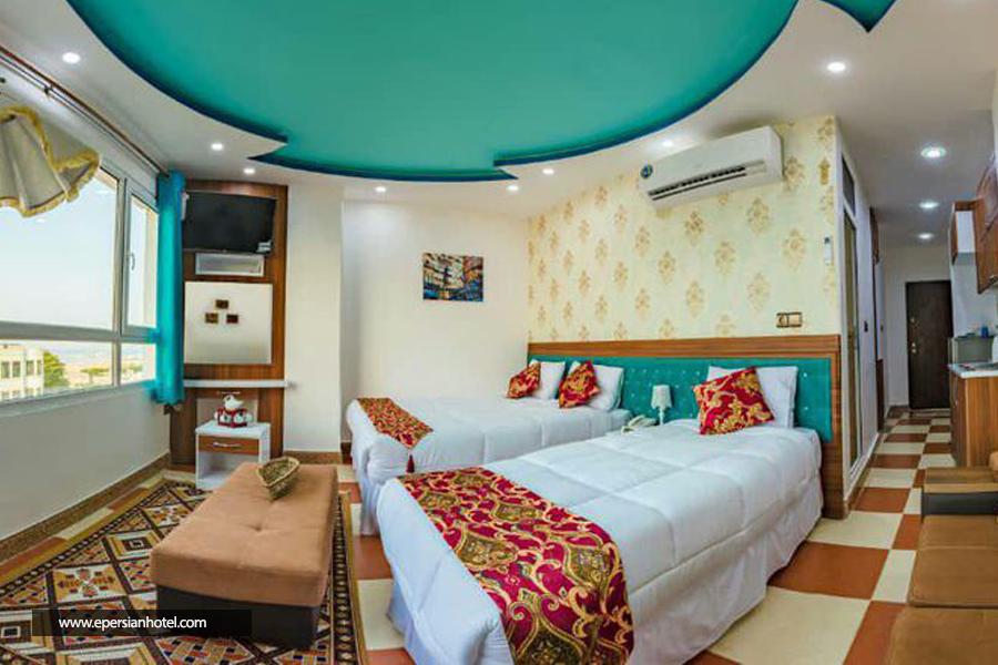 هتل رخسار قشم اتاق سه تخته